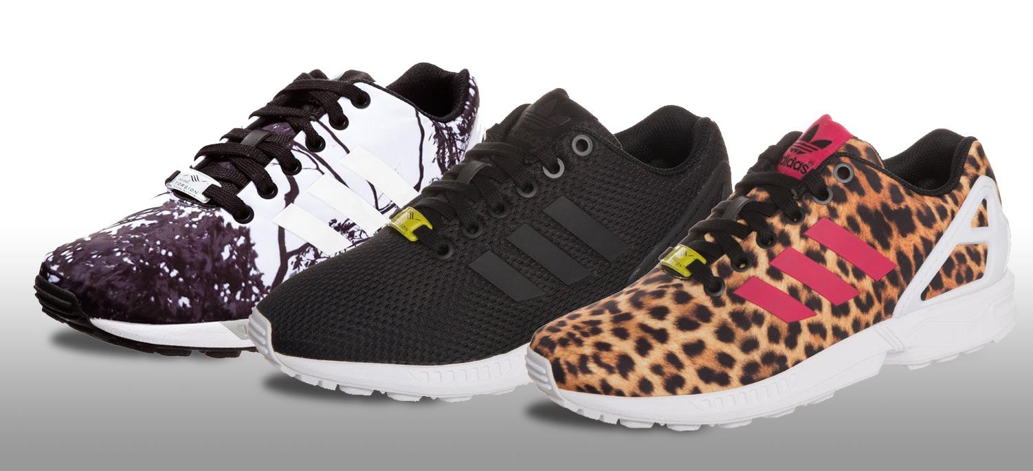 Adidas Zx Flux Sort Dame