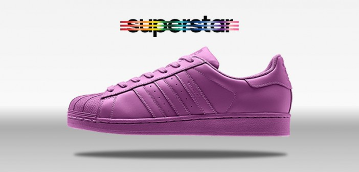 Adidas Superstar Supercolor Lucky Pink Cool Sneakers