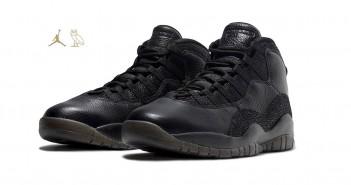 Nike Air Jordan 10 Retro OVO Black