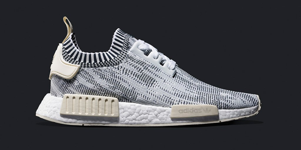 8d9014775 Adidas Originals NMD R1 Grey White Boost Size 3 4 5 6 7 8 9 10 11 12  Primeknit Ultra