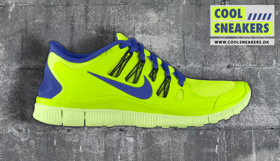 Nike Free 5.0 blue/yellow