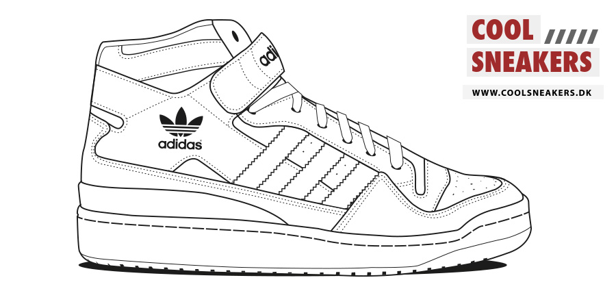 printable tennis shoe coloring pages - photo#31