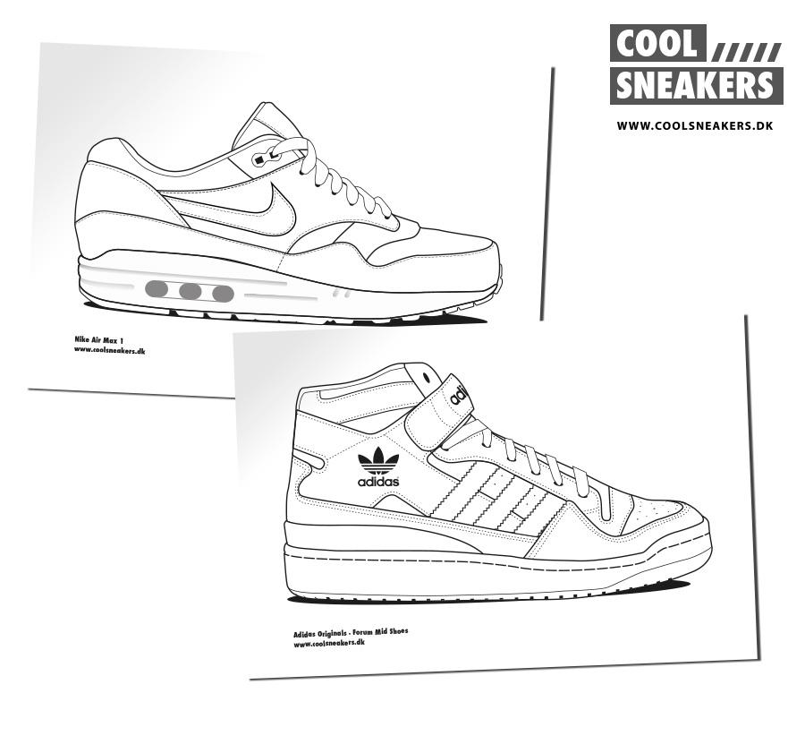 Sneakers Printables
