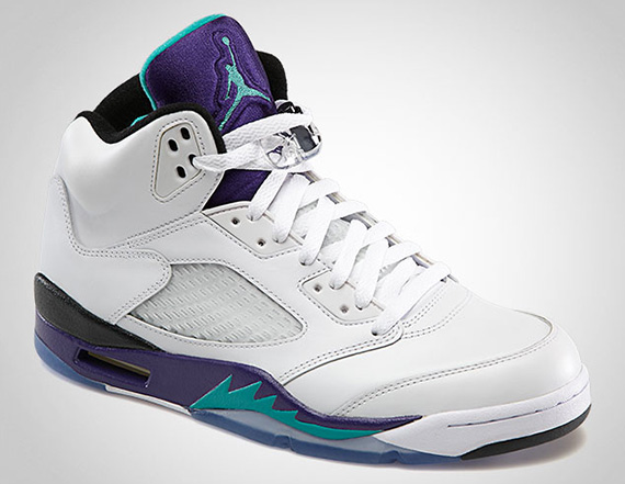 Nike Air Jordan V 'Grape'