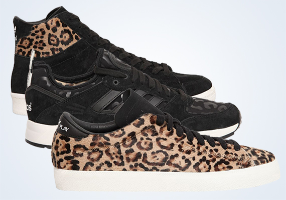 Adidas Originals Blue 'Leopard Pack'