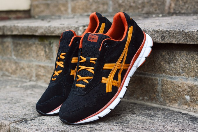 Onitsuka Tiger Harandia Sort og Orange