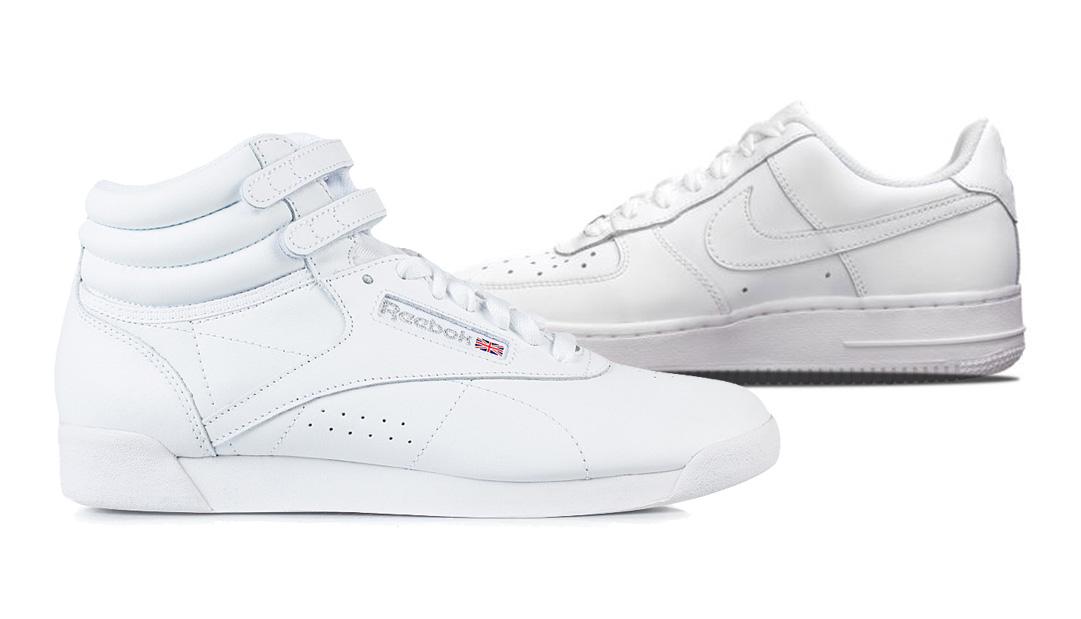 Hvide Sneakers til damer