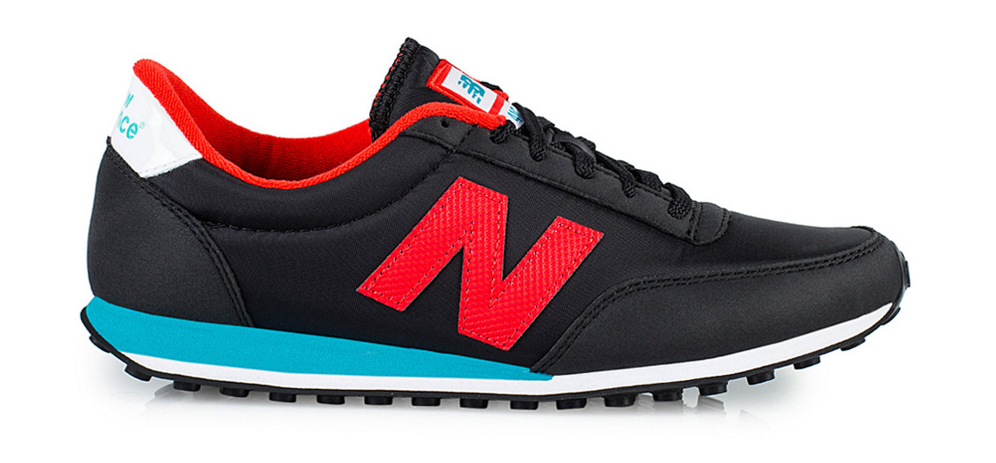 New Balance U410 - Sort/Rød/Turkis