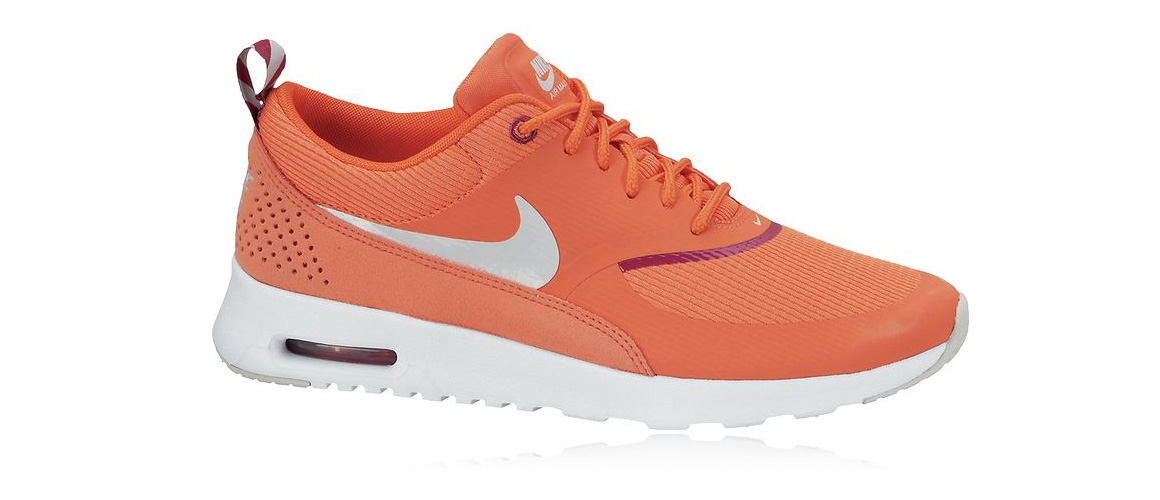 Orange Nike Air Max Thea
