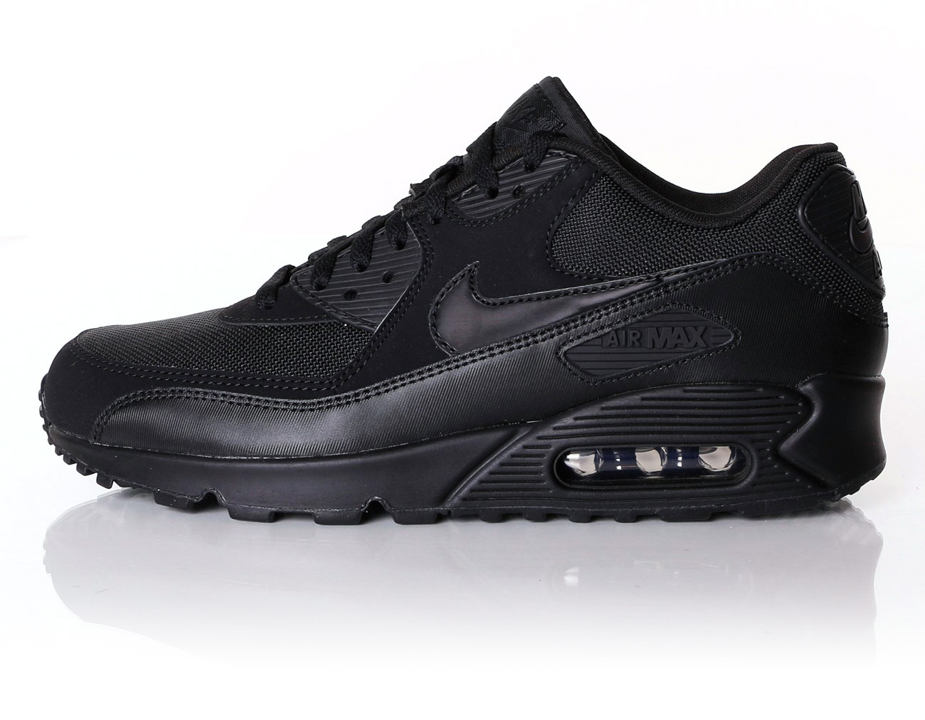new products fd13e 6a69f ... shopping sorte og hvide nike air max 90 07bc9 3511b ...