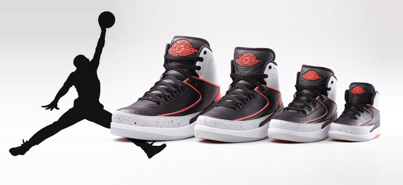 Nike Air Jordan 2 Retro 'Infrared 32'