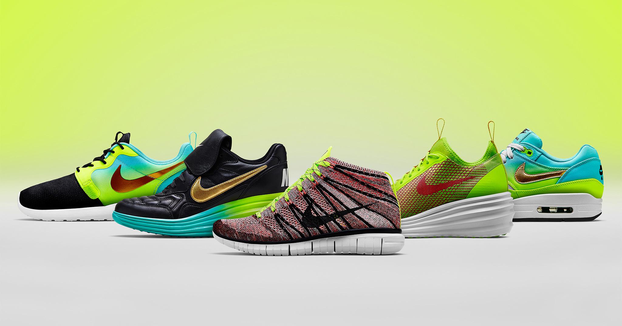 Nike Nike dame Nike roshe run flyknit Nyeste Kollektion