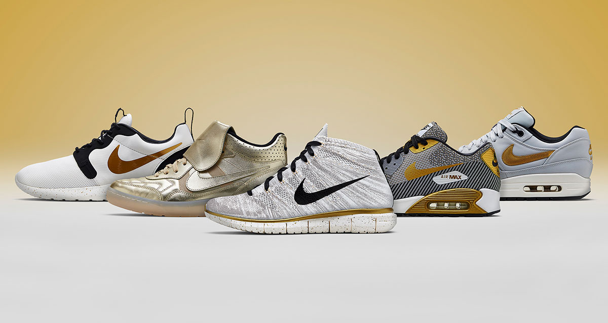 Nike Gold Hypervenom Collection