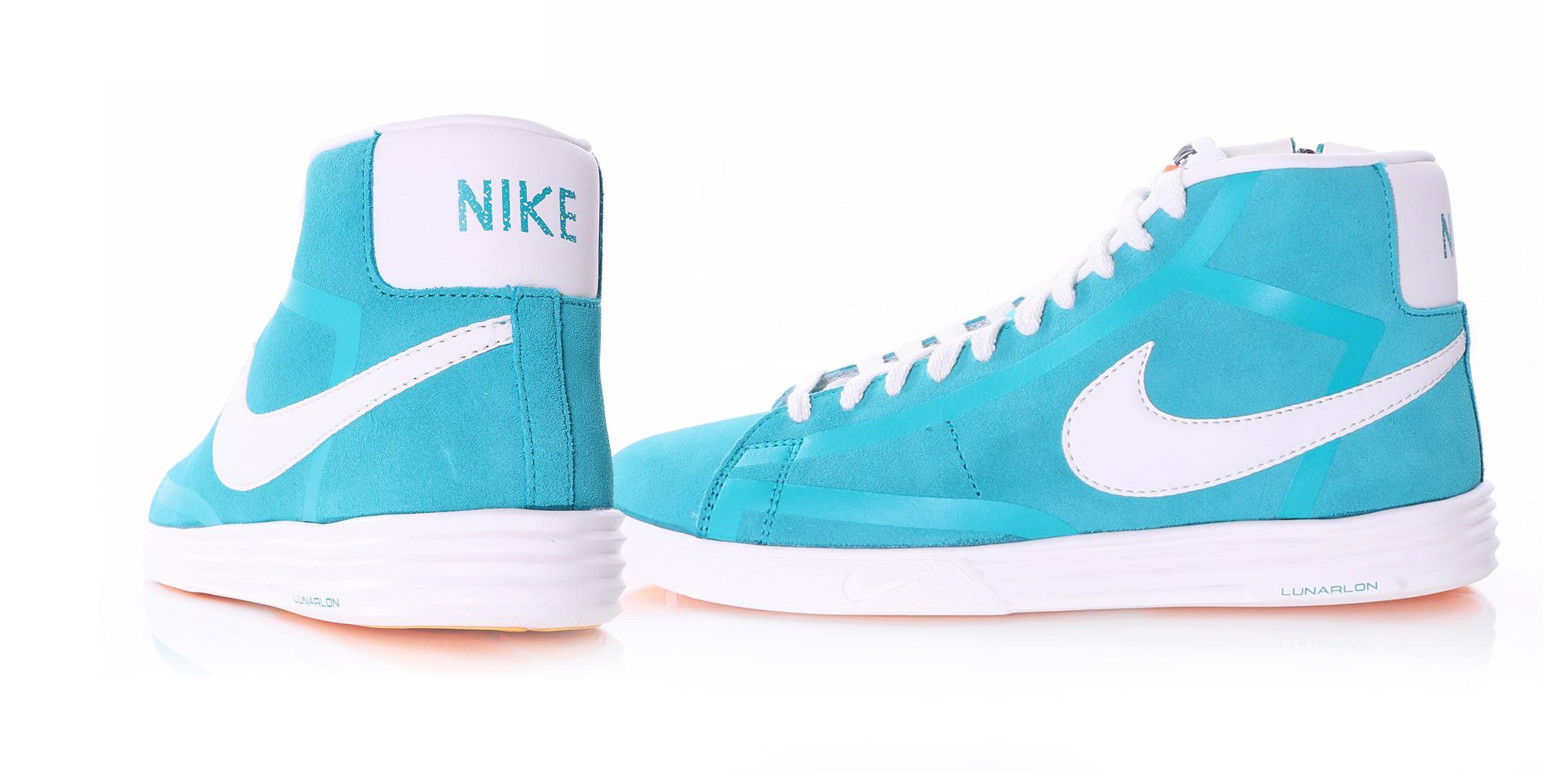 Nike Lunar Blazer Turquise