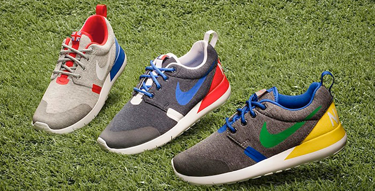 nike roshe run grå, Nike Free Cross Country | Blå Gul