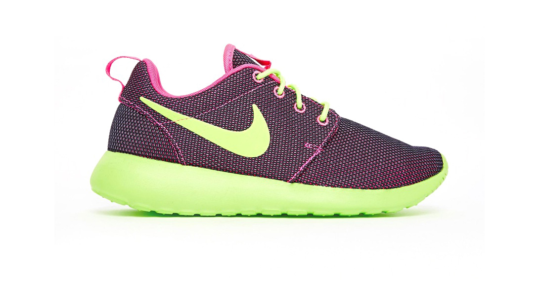 Nike Roshe Run Grape and Lime