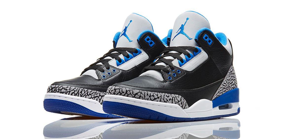 Nike Air Jordan 3 Retro Sport Blue