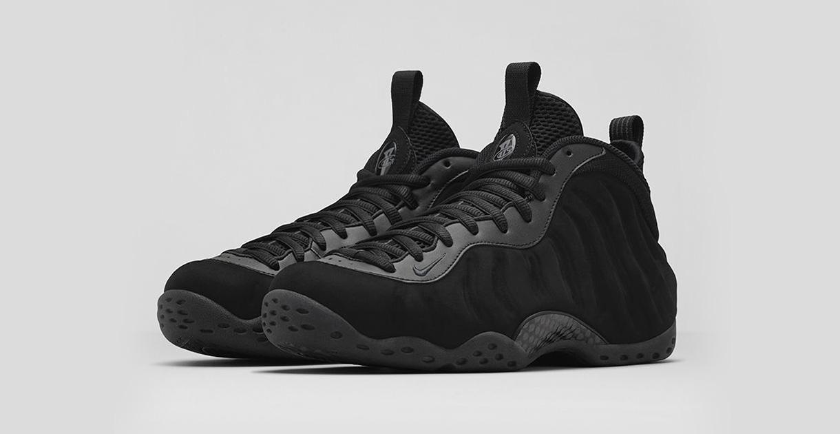 Nike Air Foamposite One Triple Black