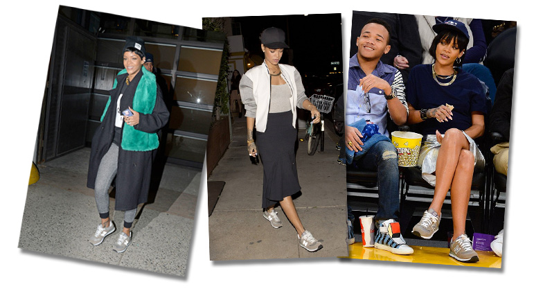Rihannas New Balance Sneakers