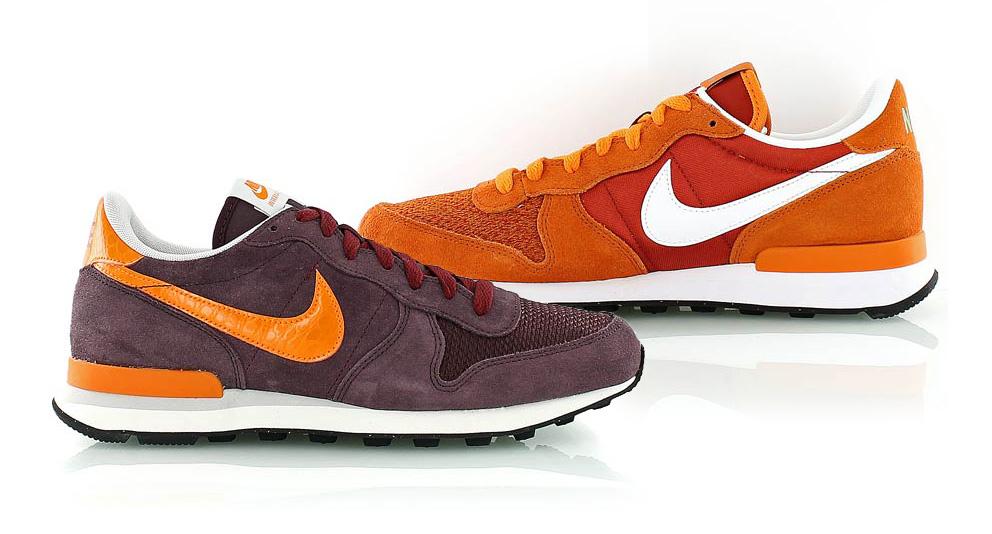 Burgundy Nike Internationalist