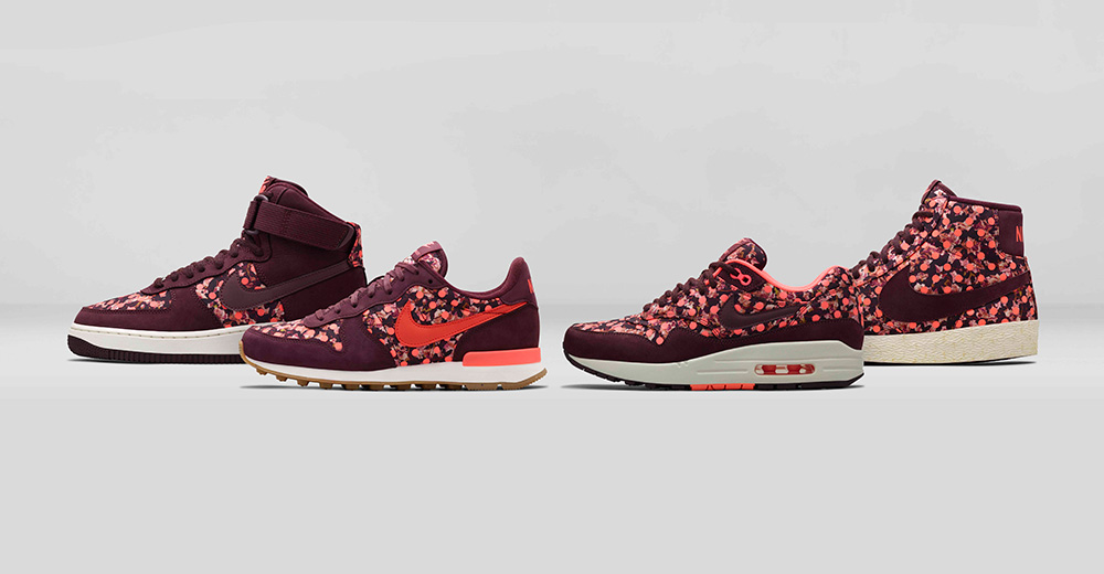 Nike x Liberty Holliday 2014 Collection - Burgundy