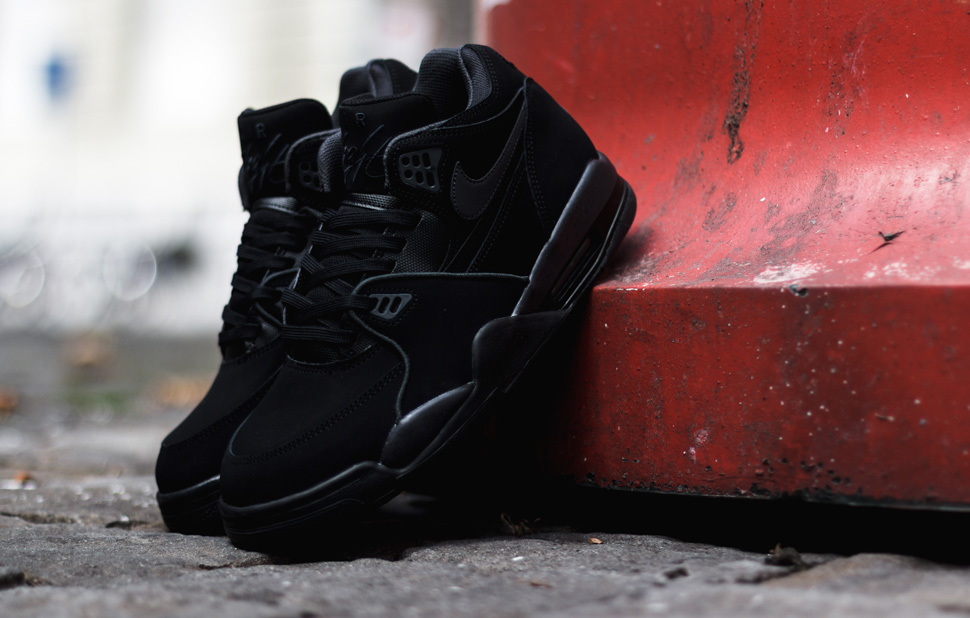 Nike Air Flight 89 Black Antrachite