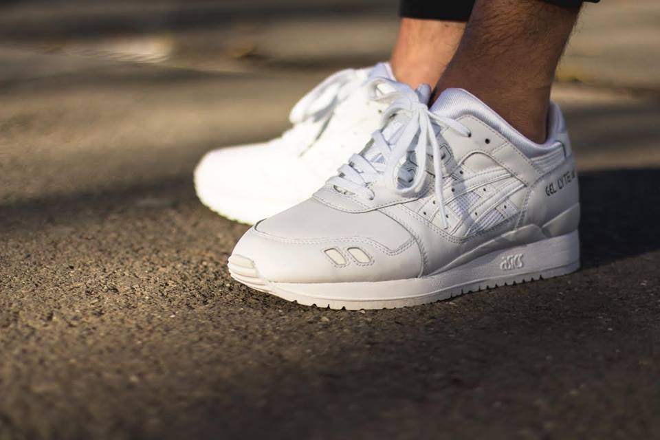 Asics Gel Lyte III Triple White