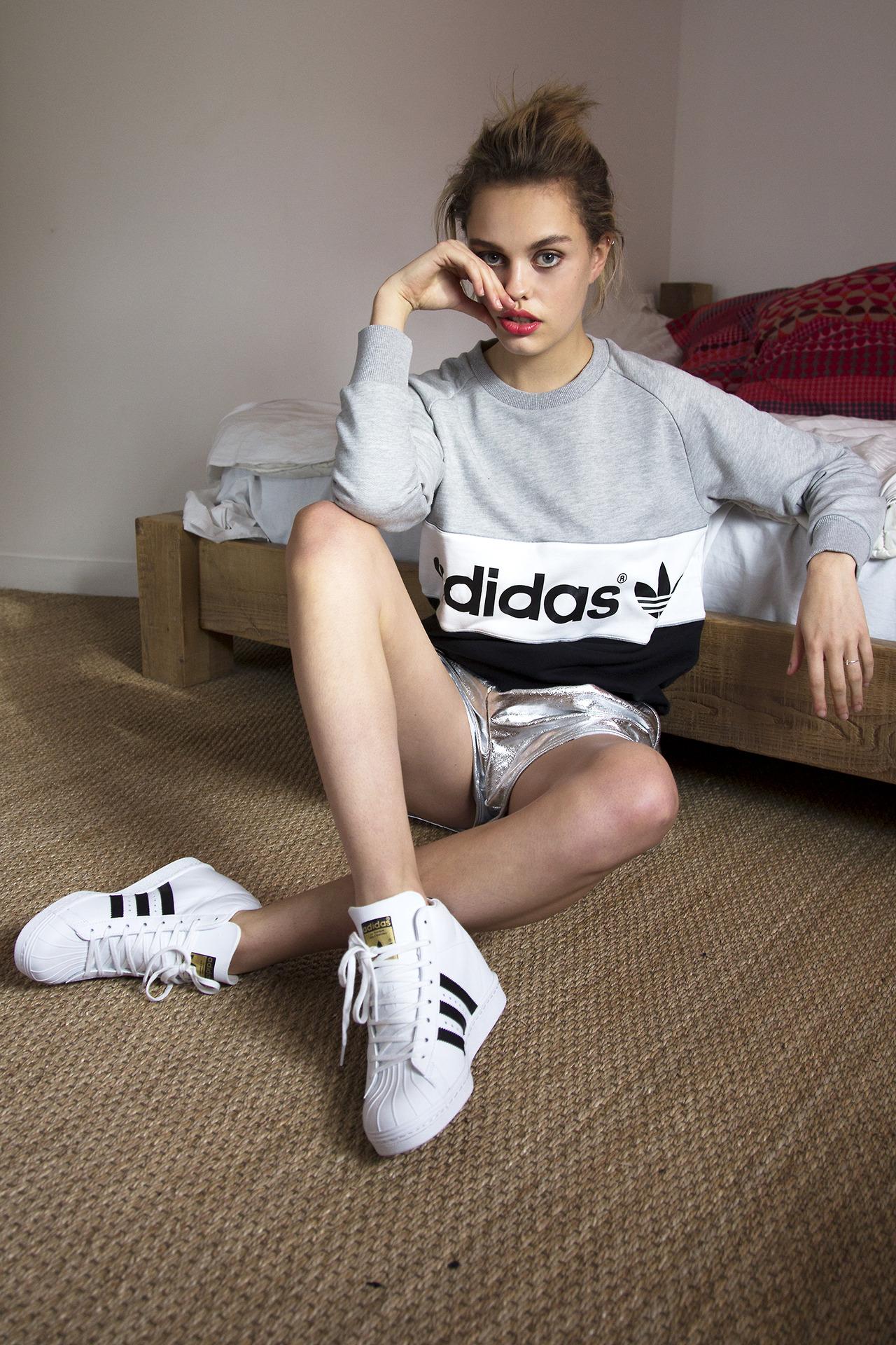Adidas Superstar Up Høje Superstar Sneakers! Cool Sneakers