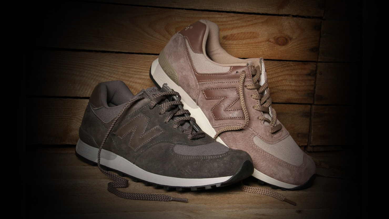 New Balance M576F Brown & Charcoal