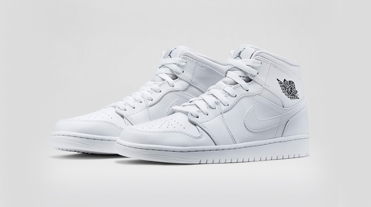 Nike Air Jordan 1 Mid White