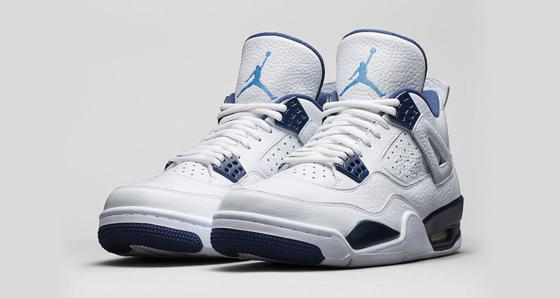 Nike Air Jordan 4 Retro Legend Blue