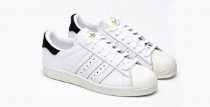 Hvide Adidas Superstar 80s