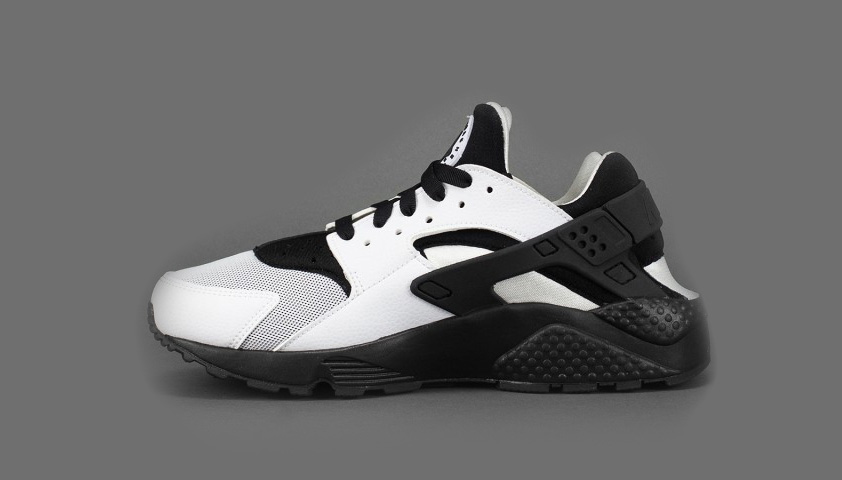 Nike Air Huarache Run White Black