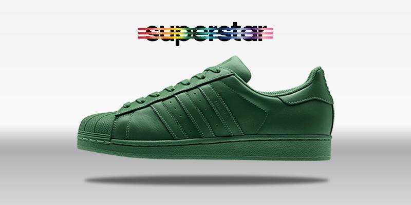 Adidas Superstar Supercolor Amazon Green