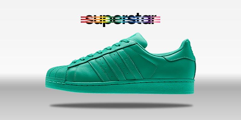Adidas Superstar Supercolor Green Blaze