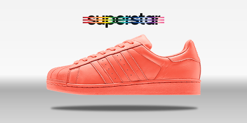 Adidas Superstar Supercolor Bliss Coral