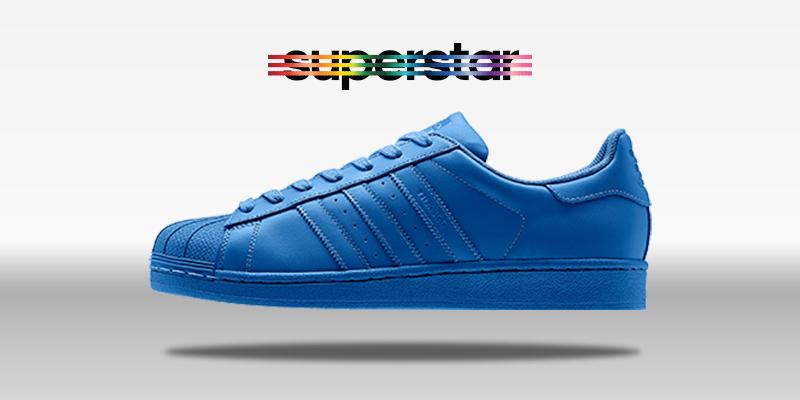 Adidas Superstar Supercolor Bluebird