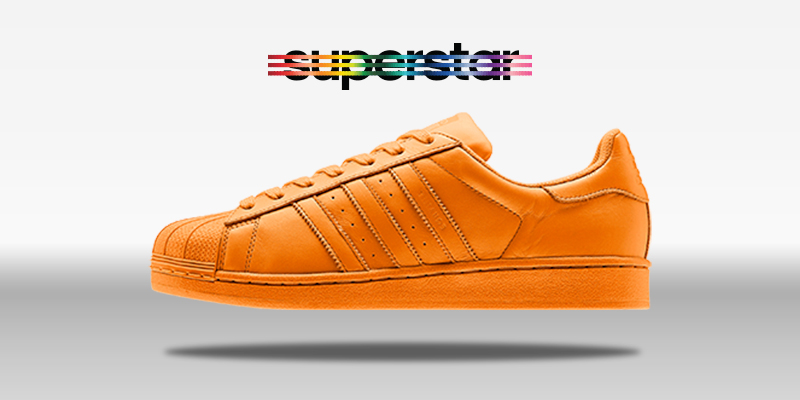 Adidas Superstar Supercolor Bright Orange