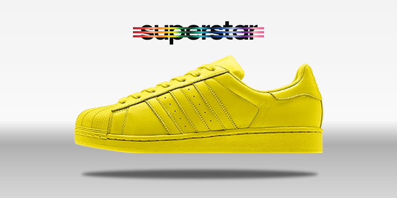 Adidas Superstar Supercolor Bright Yellow