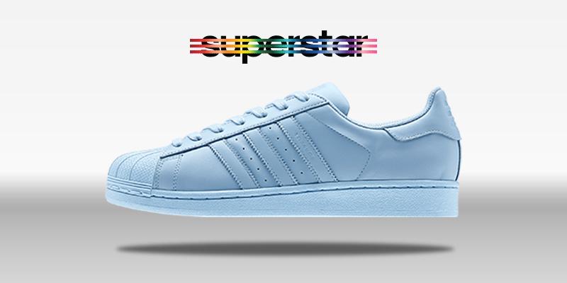 Adidas Superstar Supercolor Clear Sky