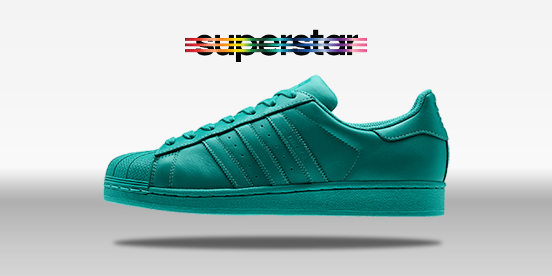 Adidas Superstar Supercolor Collegiate Aqua