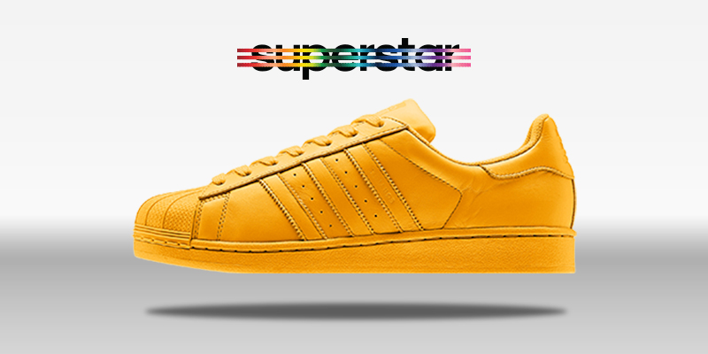 Adidas SUperstar Supercolor Collegiate Gold