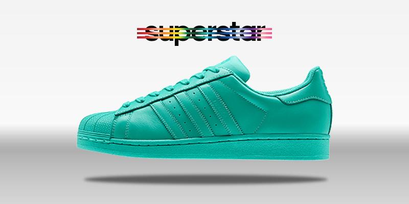 Adidas Superstar Supercolor Hyper Green