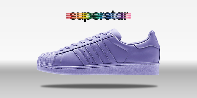Adidas Superstar Supercolor Light Flash Purple