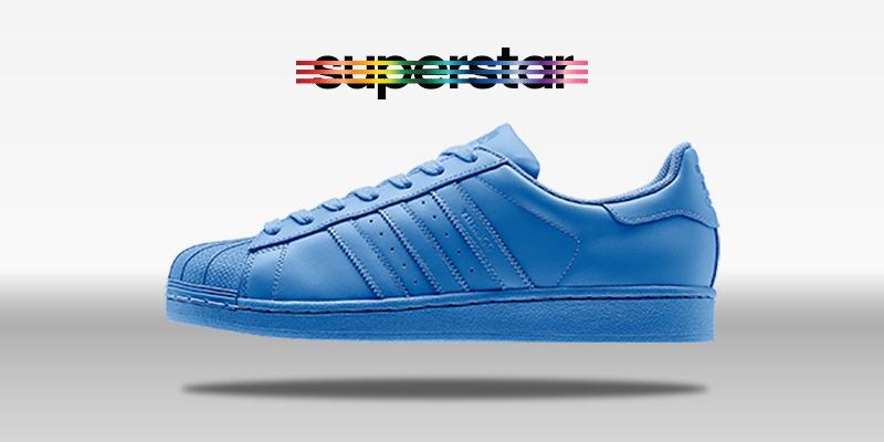 Adidas Superstar Supercolor Lucky Blue