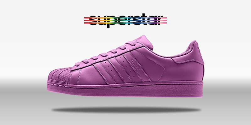 Adidas Superstar Supercolor Lucky Pink