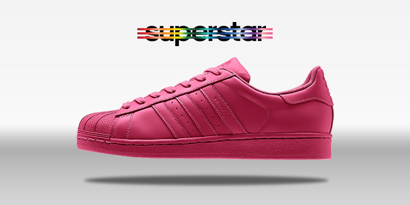 Adidas Superstar Supercolor Pride Pink