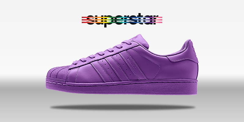 Adidas Superstar Supercolor Ray Purple