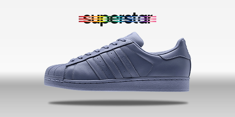 Adidas Superstar Supercolor Shape Grey