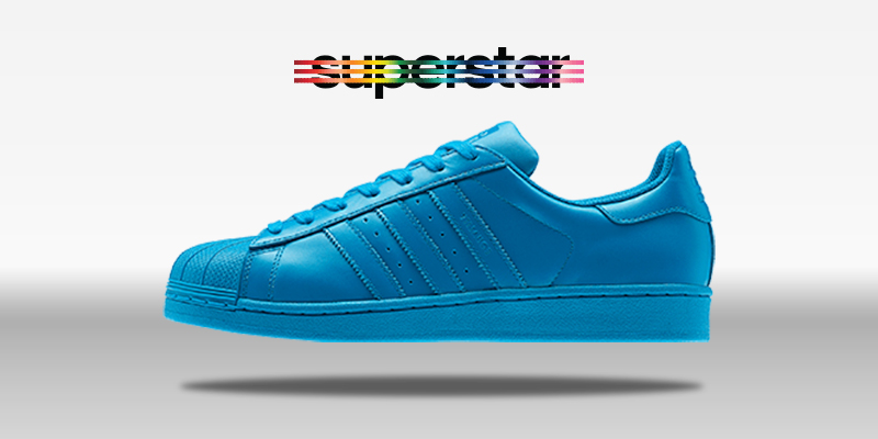 Adidas Superstar Supercolor Sharp Blue